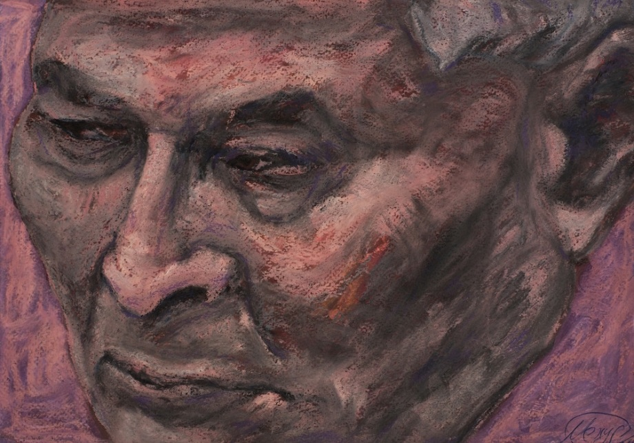 Title: DREAM FACTORY chernenko Medium: pastel on paper Size: 20x30 cm