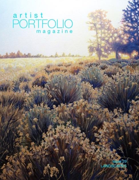 Artist Portfolio Magazine Landscapes Issue