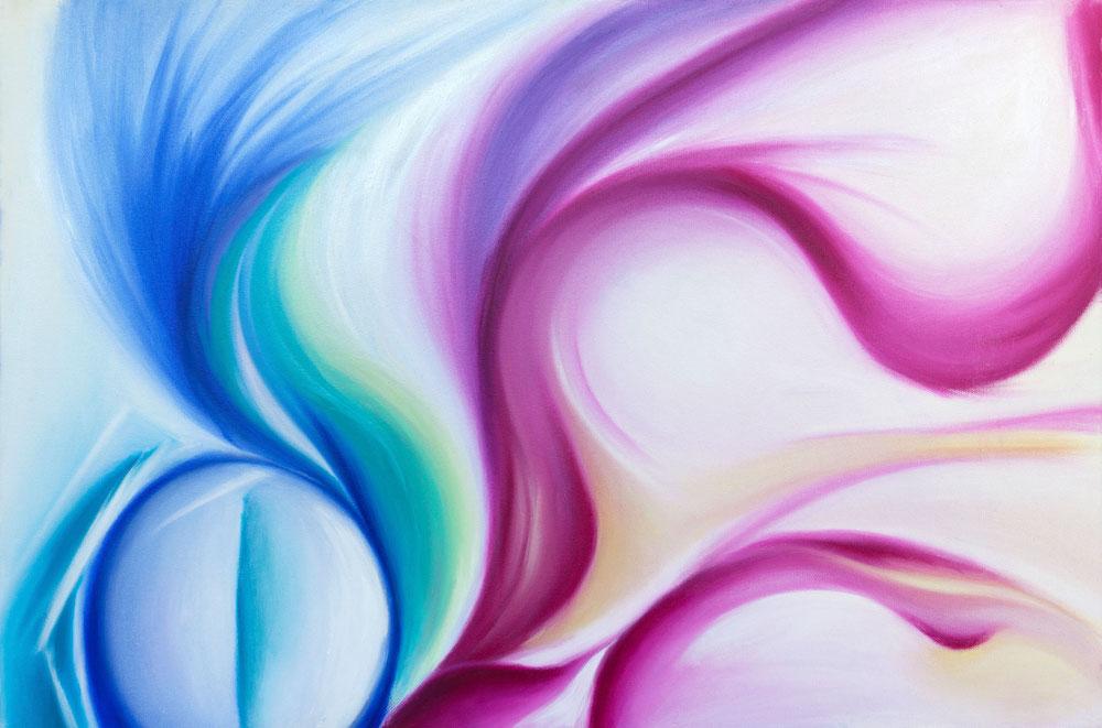Title: Dance Medium: Oil on Canvas Size: 24 x 36 inch